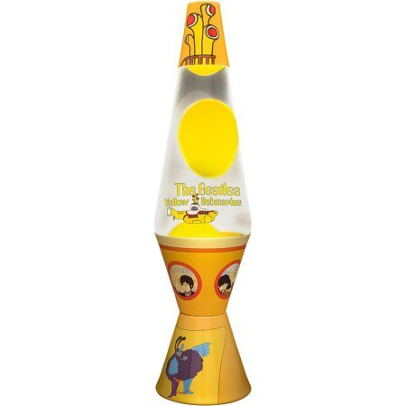 The beatles yellow submarine lava lamp