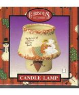 Christmas Collectible Tealight Candle Lamp NIP - $6.95