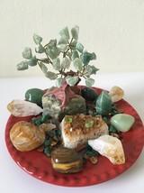 Jade Tree Prosperity Crystal House Kit. Uplifting Positive Energy - $85.00