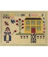 CLEARANCE Kreinik Williamsburg Lady silk design... - $12.00