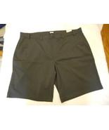 Men's MSX Michael Strahan Stretch Chino Shorts Big & Tall Smoke Size 46 ... - $29.69