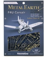 Metal Earth F4U CORSAIR Fighter Plane 3D Puzzle Micro Model - $9.89
