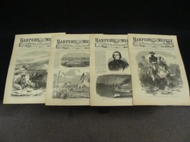 4 Issues June 6 13 20 27 1863 Harpers Weekly ReIssued Historic Newspapers