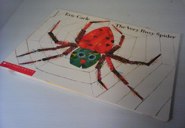 Very Busy Spider/ Eric Carle/ Scholastic paperback/ 1984/ animal book - $3.99