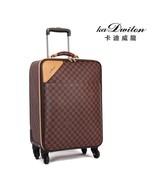Fashion Leather PVC Luxury Men Women Rolling Luggage Suitcase Designer 2... - $587.99+