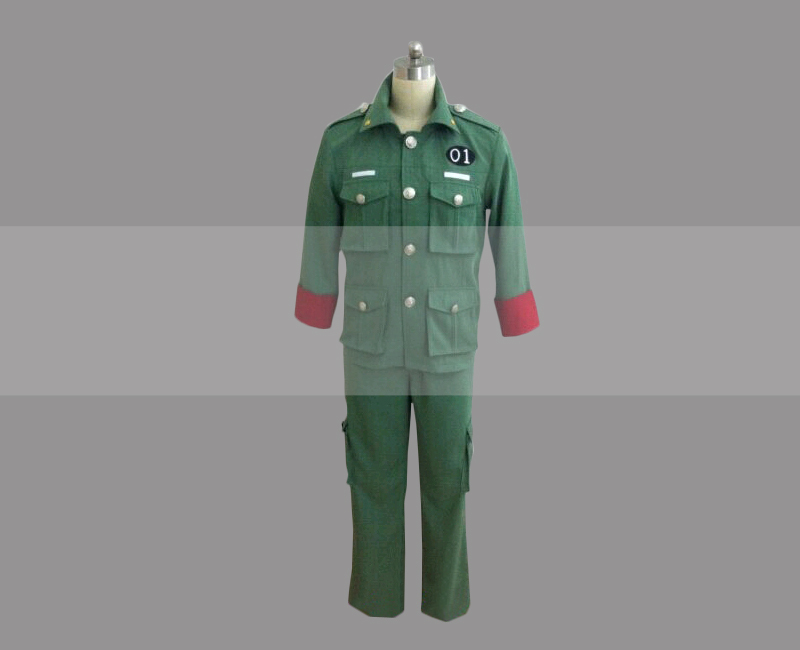 Reborn  arcobaleno colonnello cosplay costume buy
