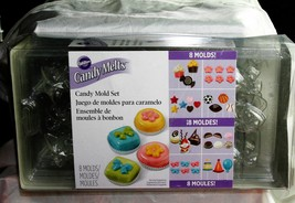 Wilton Candy Melts, Candy Mold Set 8 Pack - $8.24