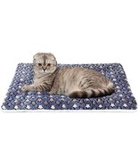 Ultra Soft Pet (Dog/Cat) Bed With Cute Prints | Reversible Fleece Crate... - $27.26