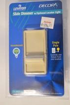 Slide Dimmer With optional Locator light  Leviton 6631   Ivory - $7.00