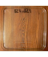"12 3/4"" X 12 1/2"" Rectangle Square Microwave Plate Tray Rounded Gently Used - $39.59"