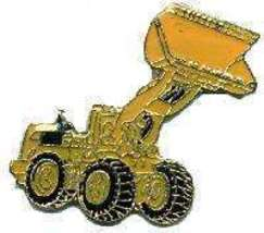12 Pins - FRONT END LOADER , lapel pin #4758 - $8.00