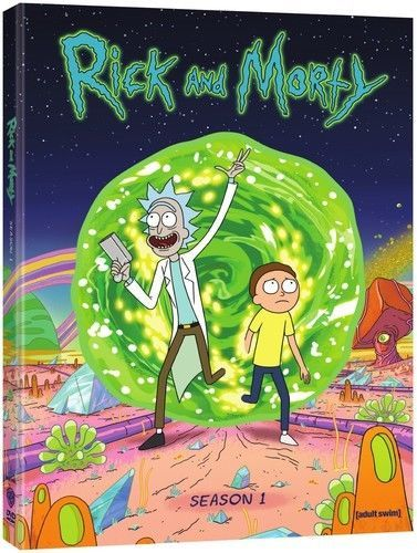 Rick & Morty: The Complete First Season 1 (DVD Set) New TV Animated Series