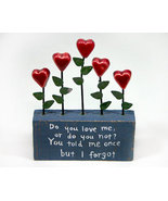 Sentimental Accent with Verse and Hearts - $5.99