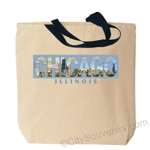 Chicago Photo Canvas Tote Bag - $9.89
