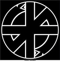 "Crass logo black vinyl sticker decal 12"" / 30.5cm square Conflict punk - $12.55"