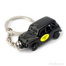 London Black Taxi Cab Key Chain, Keychain Fob R... - $7.91