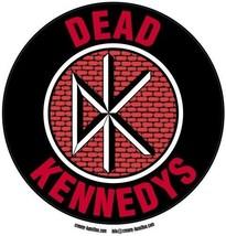 Dead Kennedys circular vinyl sticker 11cm diameter Jello Biafra - $3.12