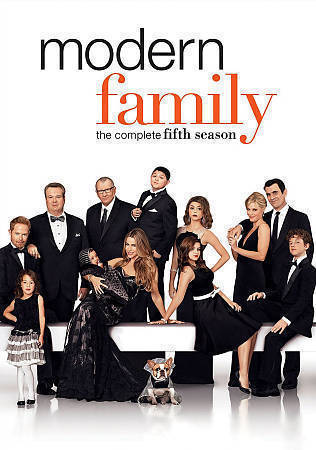 Modern Family:The Complete Fifth Season 5 (DVD Set) New TV Series