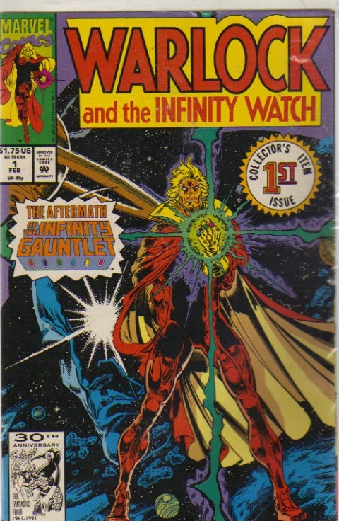"Primary image for Marvel Comics Presents; Warlock and the Infinity Watch ""Judgment"" [Collector'..."