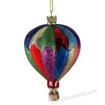 Hot Air Balloon Christmas Ornament - $17.41