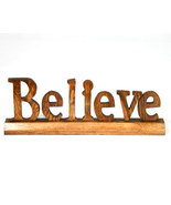 Believe Inspirational Wood Word Sign  - $4.99