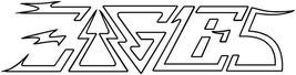 The Eagles shaped vinyl sticker 220mm x 55mm rock MOR Hotel California - $3.44
