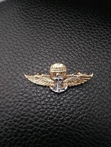 Royal Thai Navy Parachut Metal Wings Badge Thai Navy Parachute Metal Sma... - $6.93