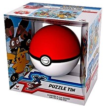"""POKE""""MON TIN SPHERE 100 PIECE PUZZLE IN A BALL - $19.78"""