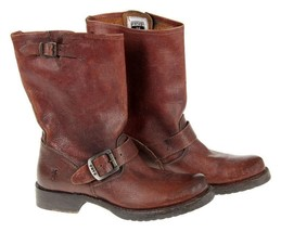 Frye Women's Veronica Short Boots Size 6 Dark Brown $274 - $188.09