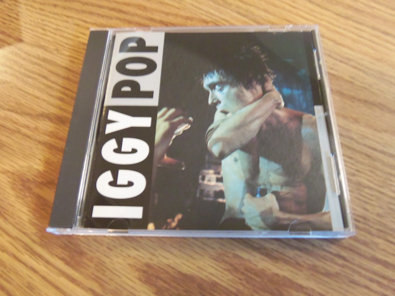 Iggy Pop A Zombie On Stage Live 1984 Flashback Cd Stooges MC5