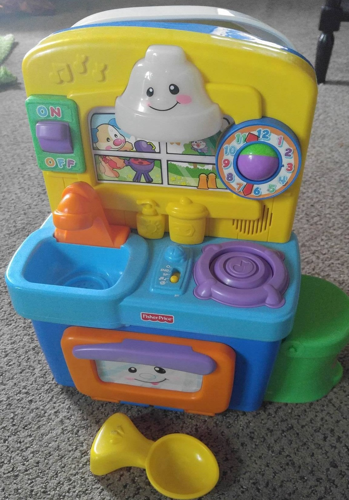 Fisher Price Learning Toys : Fisher price laugh learn learning kitchen lights music