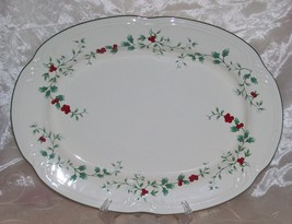 """Pfaltzgraff WINTERBERRY Serving Platter 14.5"""" x... - $16.95"""