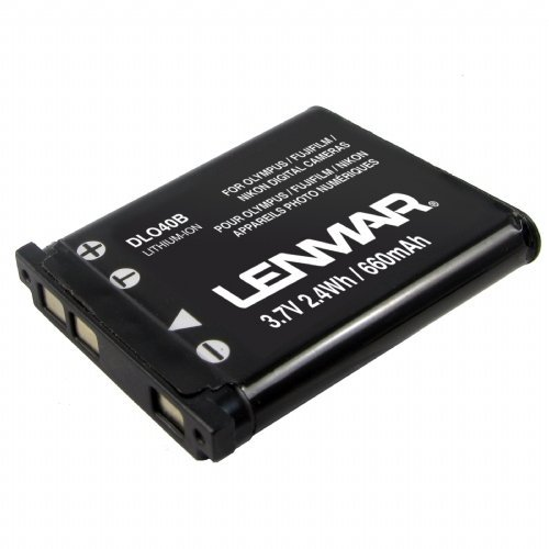 Replacement Battery for Casio, Kodak, Pentax works with Olympus Tough, Sanyo ...