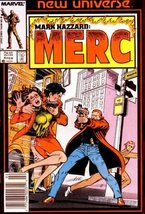 Mark Hazzard: MERC #4 Feb [Comic] [Jan 01, 1987... - $2.00