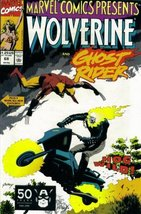 Marvel Comics Presents #68 : Wolverine, Ghost R... - $1.95