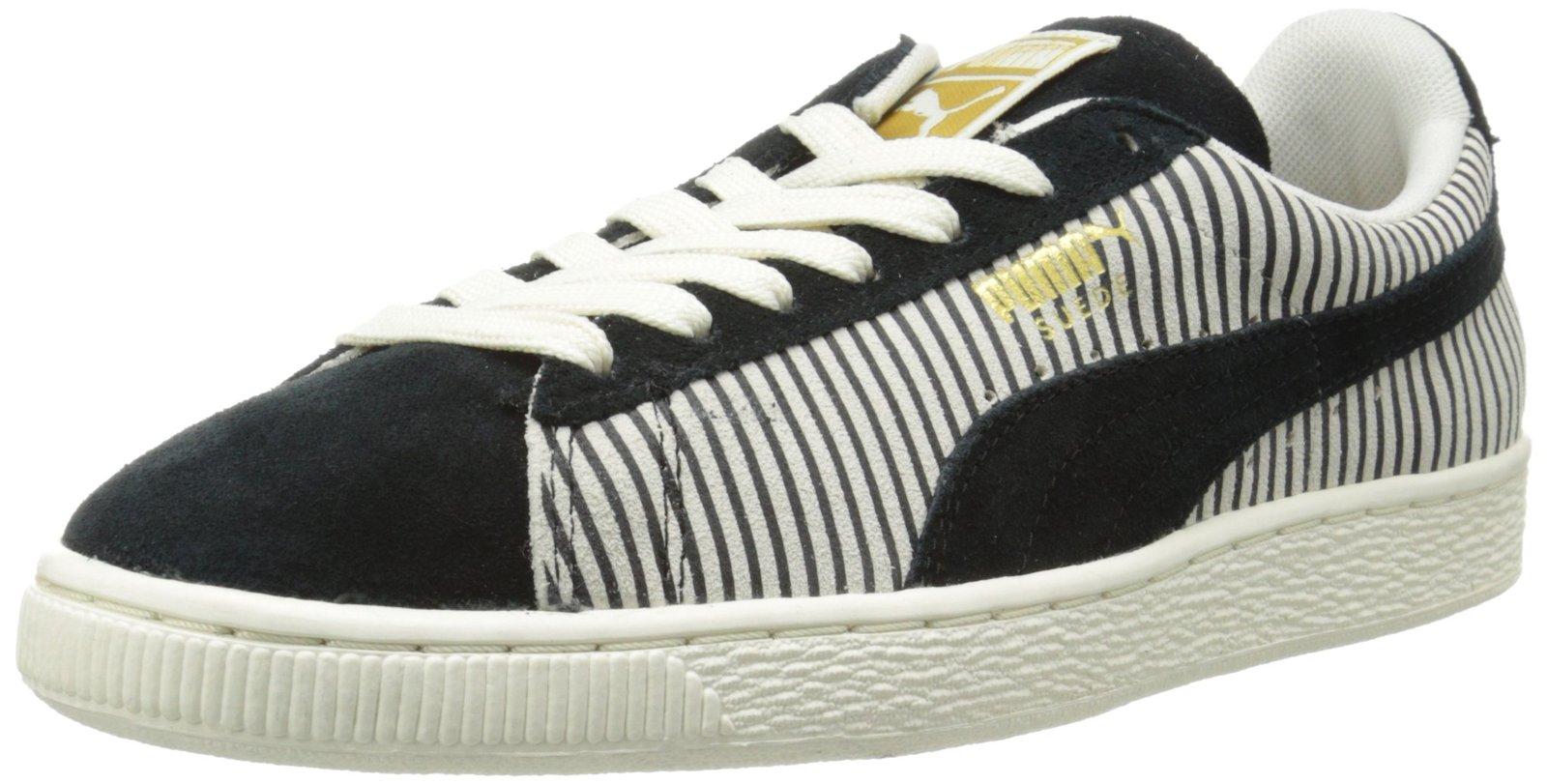 Puma Gold Pink Black White Eco Ortholite Sneakers Size US 6.5 Regular (M, B)