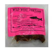 BEST Fresh Wild Caught King Smoked Salmon Squaw Candy Savory Deliciousness 2 ... - $41.75