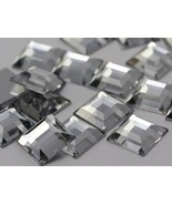 8mm Crystal H102 Flat Back Square Acrylic Jewels High Quality Pro Grade ... - $5.06