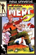 Mark Hazzard: Merc #2 [Comic] [Jan 01, 1986] Pe... - $1.95