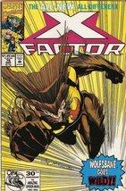 X-Factor #76 (Wolfsbane Goes Wild!) March 1992 [Comic] [Jan 01, 1992] Pe... - $1.95