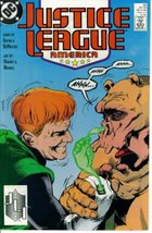 Justice League America #33 : Nitwits, Knuckleheads, & Poozers (DC Comics... - $1.95