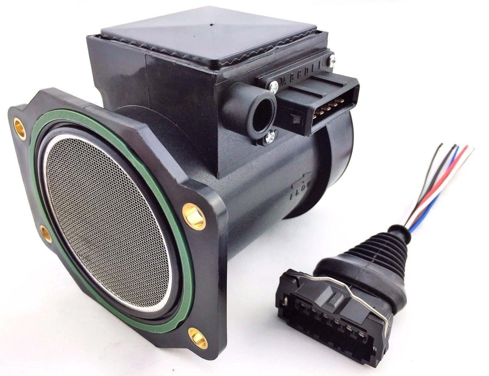 300zx fairlady infiniti 90 96 j30 3 0l mass air flow meter 80mm maf wire harness car truck parts
