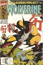 Wolverine #28 (The Lazarus Project Part 2) Early August 1990 [Comic] [Jan 01,... - $1.95