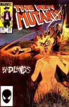 New Mutants #20 [Comic] [Jun 01, 2000] Chris Claremont & Bill Sienkiewicz - $1.99