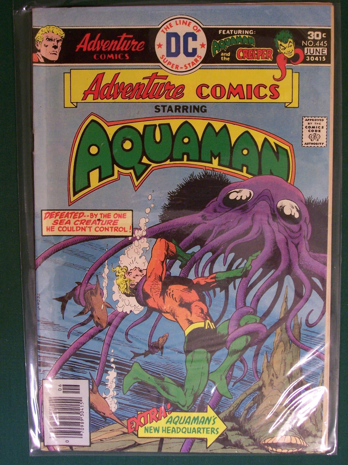 Adventure Comics Starring Aquaman Comic Book (Toxxin's Raiders, 445) [Comic] ...