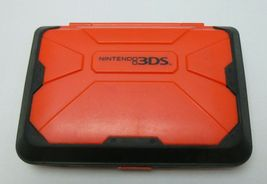 Insignia New Nintendo 3DS Xl Red Clam Shell Vault Case Store Storage For System - $20.00