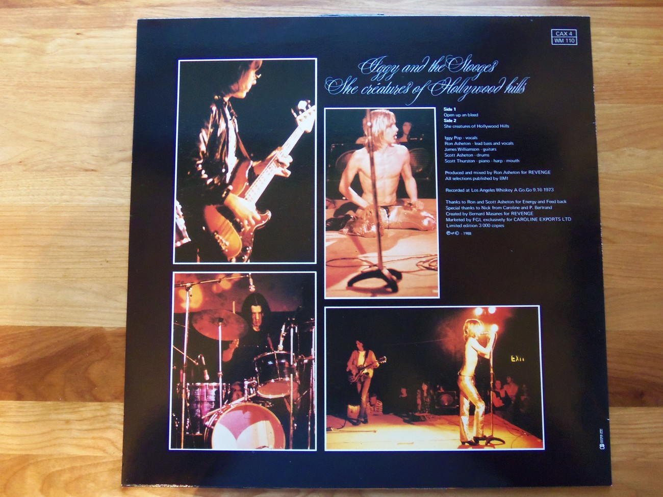 Iggy And The Stooges The She Creatures Of Hollywood Hills Ltd Ed Colored Vinyl