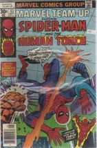Marvel Team-Up   #61 Spider-Man and the Human Torch [Comic] by Marvel Team-Up - $6.99
