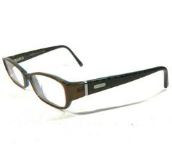 Coach Glasses Eyeglasses Frames Oval Rectangular Monogram Nuala (2019) Brown 135 - $37.39