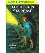 The Hidden Staircase (Nancy Drew Mystery Stories #2) [Hardcover] [Jan 01... - $2.00